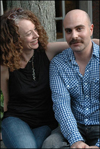 David Adjmi and Rebecca Taichman